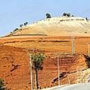 Morocco Landscape I Print by Chuck Kuhn