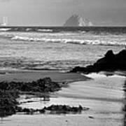 Morro Bay Shoreline V Print by Steven Ainsworth