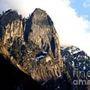 Mountains Of Yosemite . 7d6167 Print by Wingsdomain Art and Photography