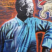 Mr. Nelson Mandela Print by Juergen Weiss