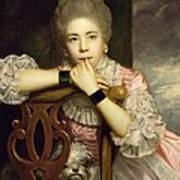 Mrs Abington As Miss Prue In Congreve's 'love For Love'  Print by Sir Joshua Reynolds