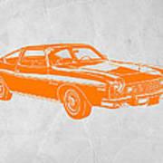 Muscle Car Print by Naxart Studio