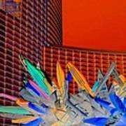 My Vegas City Center 59 Print by Randall Weidner