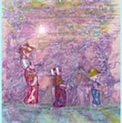 Mystical Stroll Print by Ray Tapajna