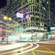 Nathan Road Print by Thank you for choosing my work.