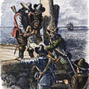 Native American Slave Print by Granger