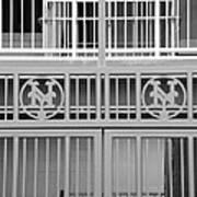 New York Mets Jail Print by Rob Hans
