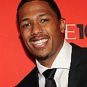 Nick Cannon At Arrivals For Time 100 Print by Everett