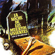 Night Of The Living Dead, Spanish Print by Everett