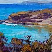 Norah Head Central Coast Nsw Print by Graham Gercken