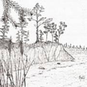North Shore Memory... - Sketch Print by Robert Meszaros