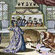 Nostradamus's Magic Mirror Print by Sheila Terry