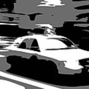 Nyc Taxi Bw3 Print by Scott Kelley