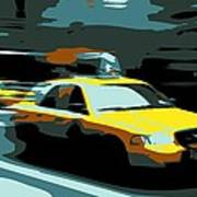 Nyc Taxi Color 6 Print by Scott Kelley