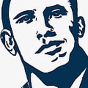 Obama Print by Pramod Masurkar