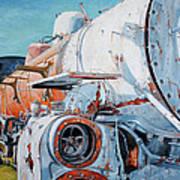 Off Track Print by Chris Steinken