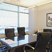 Office Meeting Room Print by Dave & Les Jacobs