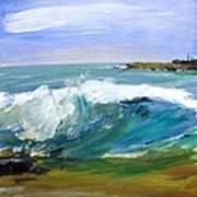 Ogunquit Beach Wave Print by Scott Nelson
