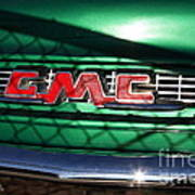 Old American Gmc Truck . 7d10666 Print by Wingsdomain Art and Photography