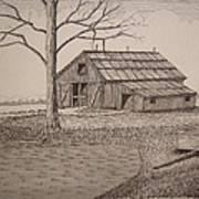 Old Barn2 Print by William Deering