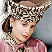 Olivia De Havilland, Ca. 1943 Print by Everett