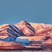 Oquirrh Mountains Utah First Snow Print by Tracie Kaska