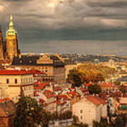 Overlook Prague Print by John Galbo
