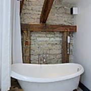 Pädaste Manor Bathtub Print by Jaak Nilson