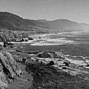 Pacific Coast Highway Coast Print by Twenty Two North Photography