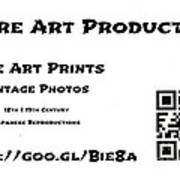 Padre Art Productions Qr Card Print by Padre Art