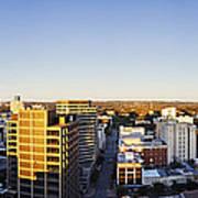 Panoramic City Skyline Print by Jeremy Woodhouse