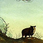 Parable Of The Lost Sheep Print by Marsha Elliott