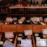 Paris Wine Shop Print by Andrew Fare