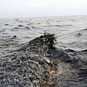 Part Of An Oil Slick In The Gulf Print by Stocktrek Images