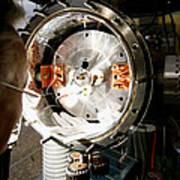 Particle Physics Experiment Print by Ria Novosti