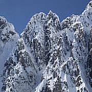 Peaks Of Takhinsha Mountains Print by Matthias Breiter