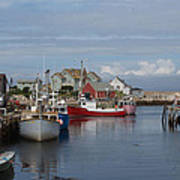 Peggy's Cove Print by Nick Sayles