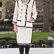 Penelope Cruz Wearing A Chanel Suit Print by Everett
