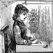 Penmanship Manual, C1880 Print by Granger
