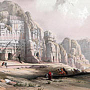 Petra  Print by Munir Alawi