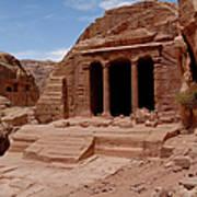 Petra's Garden Temple Print by Dan Wiklund