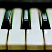 Piano Keys Print by Calvert Byam