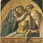 Pieta Print by Carlo Crivelli