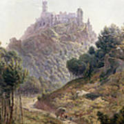 Pina Cintra Summer Home Of The King Of Portugal Print by George Leonard Lewis