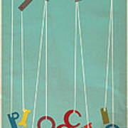Pinocchio Print by Megan Romo