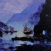 Pirate's Cove Print by R W Goetting