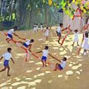 Playground Sri Lanka Print by Andrew Macara