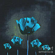 Poppies Fun 01 - Bb Print by Variance Collections