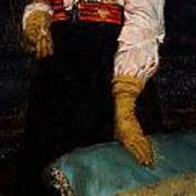 Portrait Of Miss Macwirter Print by Sir Lawrence Alma-Tadema
