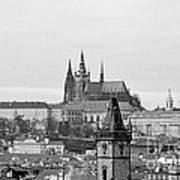 Prague - City Of A Hundred Spires Print by Christine Till
